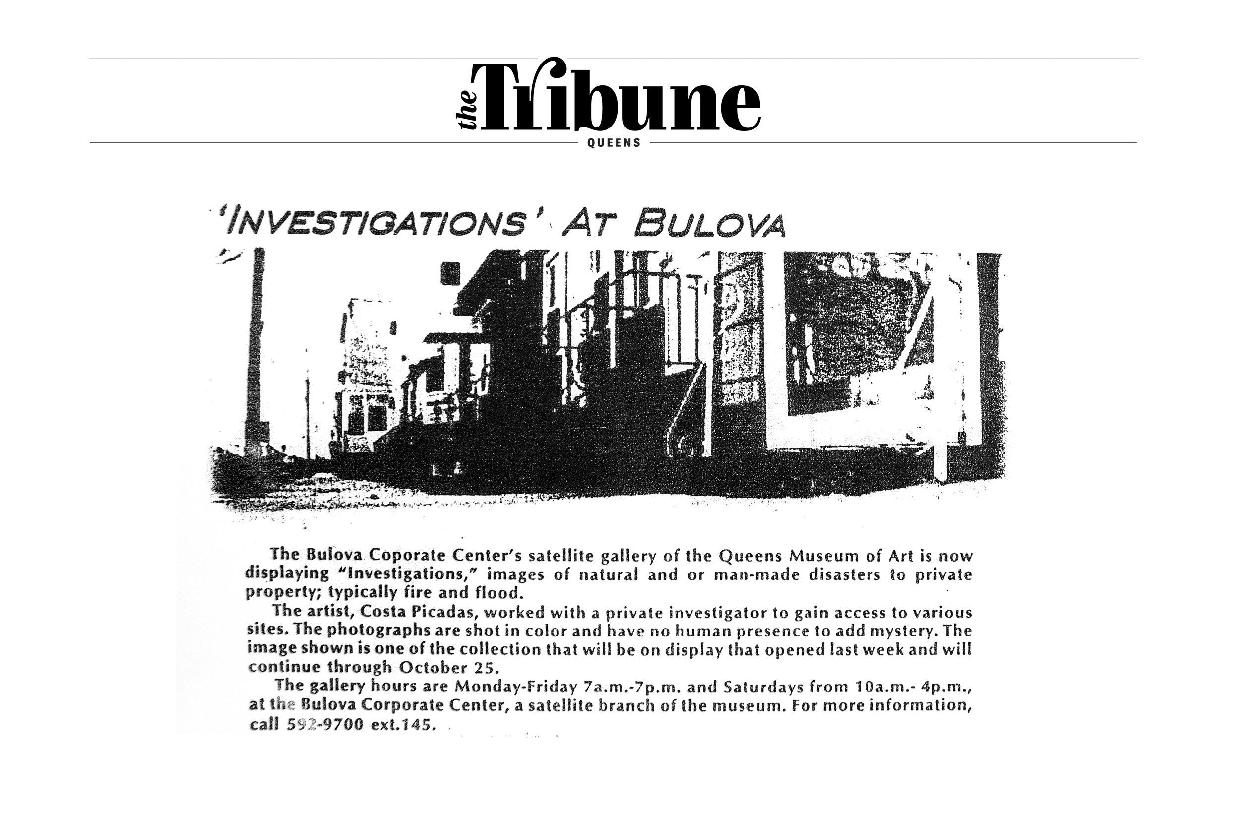 THE TRIBUNE MAGAZINE NY