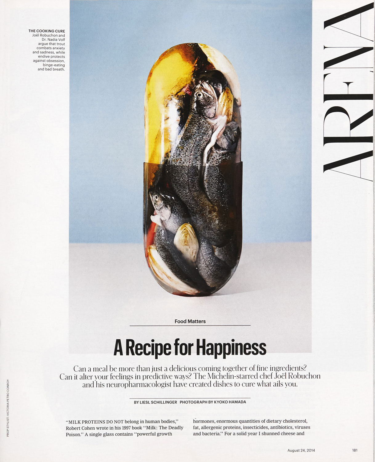 A Recipe for Happiness - The New York Times Style Guide
