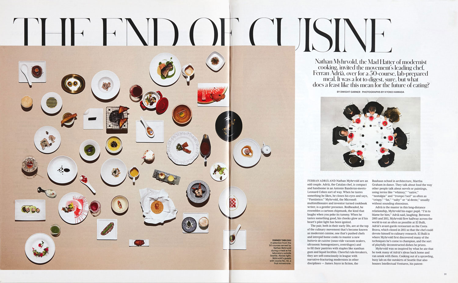 The End of Cuisine - New York Times Style Guide