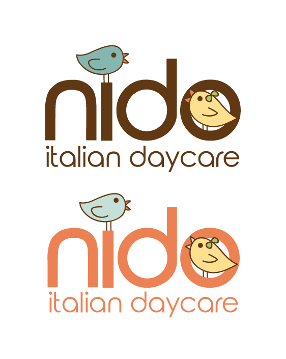 """Nido"" daycare logo ideas"
