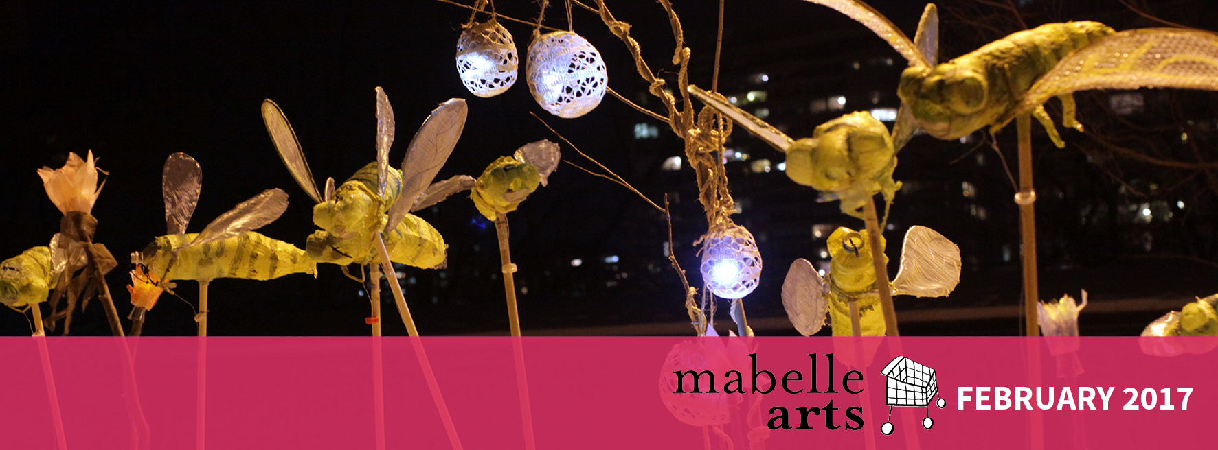 Mabelle Arts February Banner