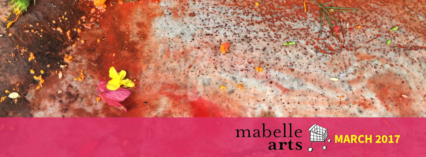 Mabelle Arts March Banner