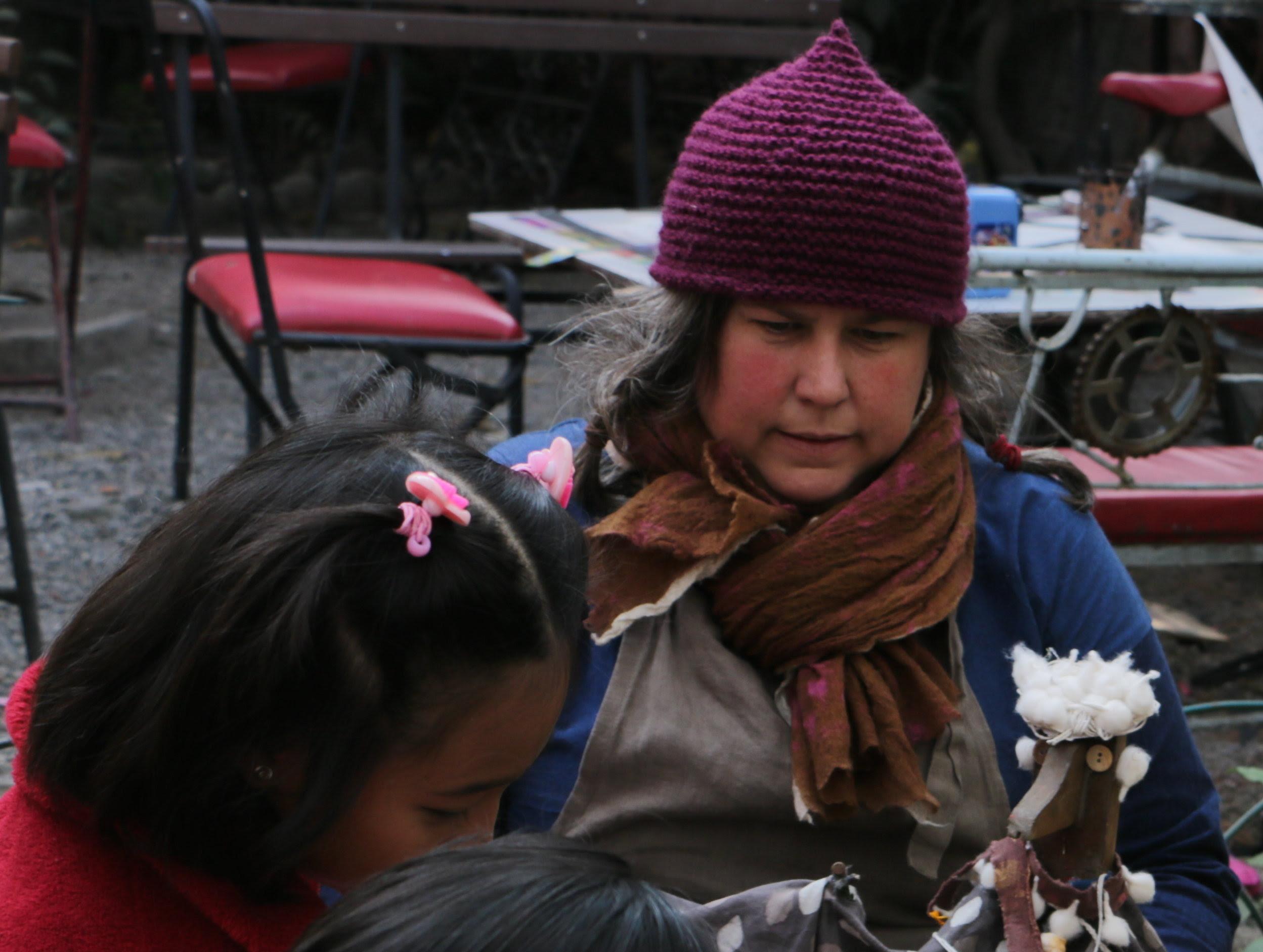 Leah Houston in Nepal