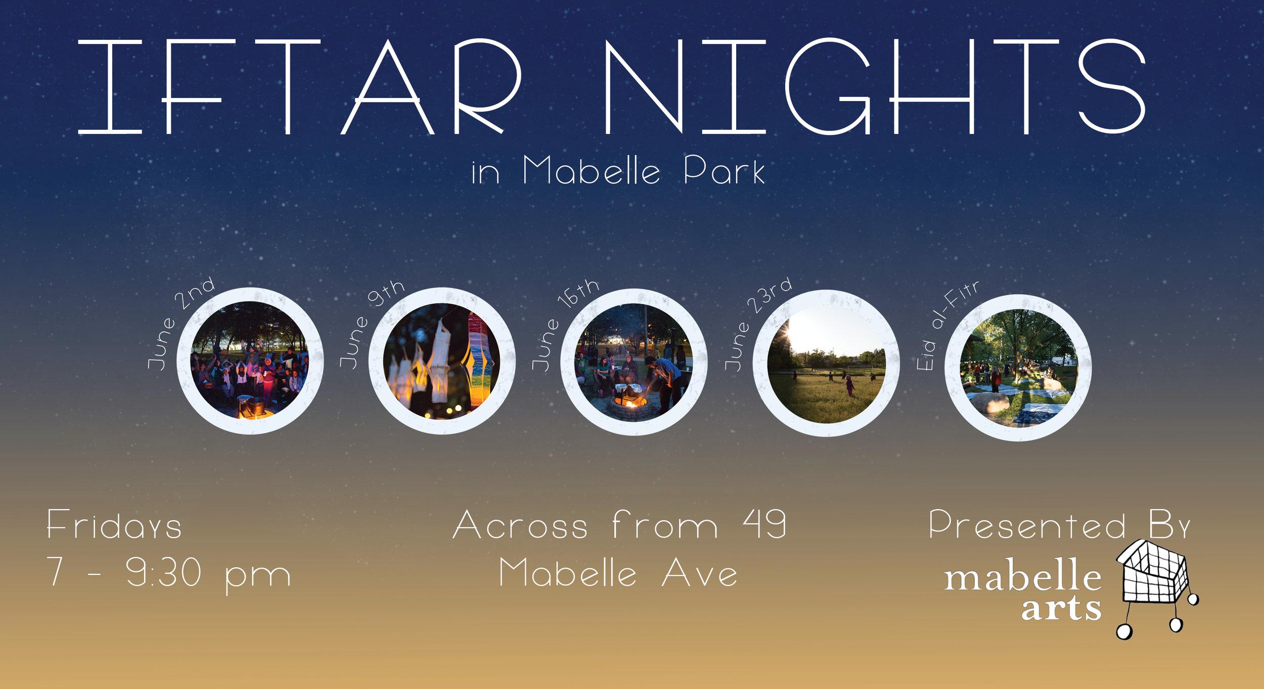 Iftar Nights Banner