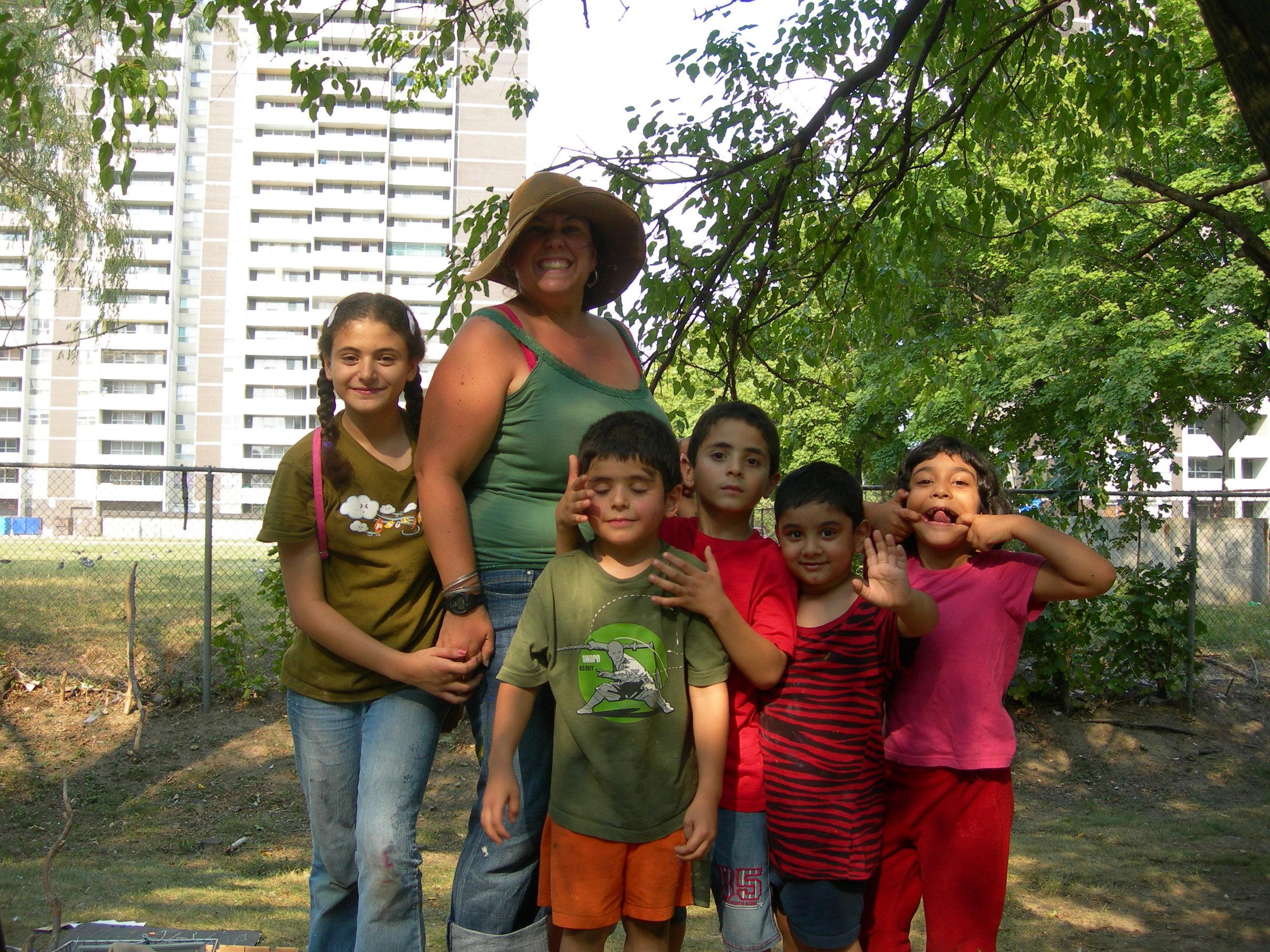 Farah, Leah, Omar, Osama, Tauhid and Tasmeen, 2011