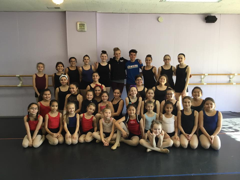 Thank you to our Guest Teaching Artists Ms. Mallory & Mr. Anthony for a wonderful workshop on Sunday, November 13- these talented young dancers really shined! We are proud of their dedication and growth, keep up the hard work!