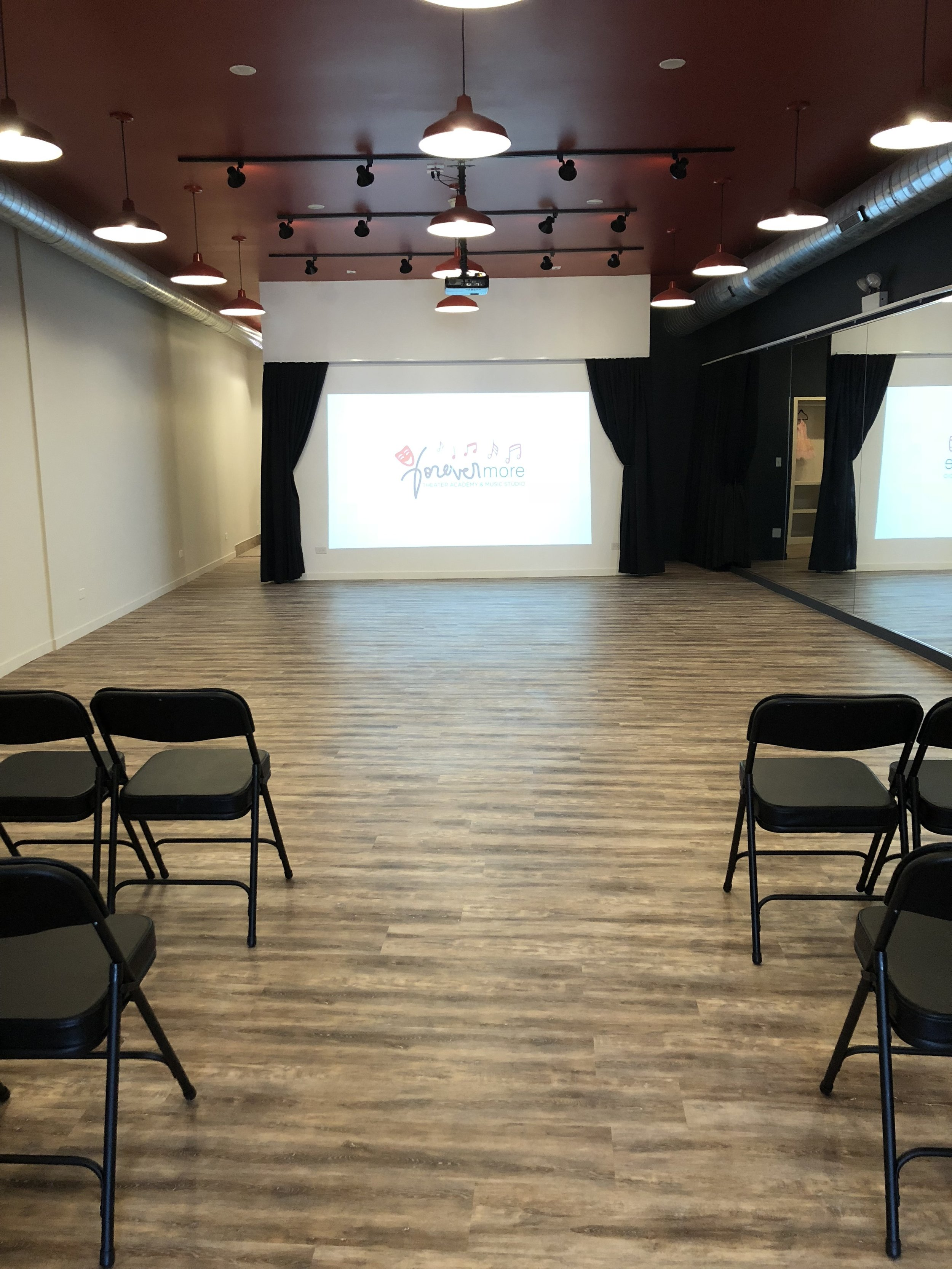 Now Open!   Forevermore Theatre Academy & Music Studio at 7511 W. Belmont Ave