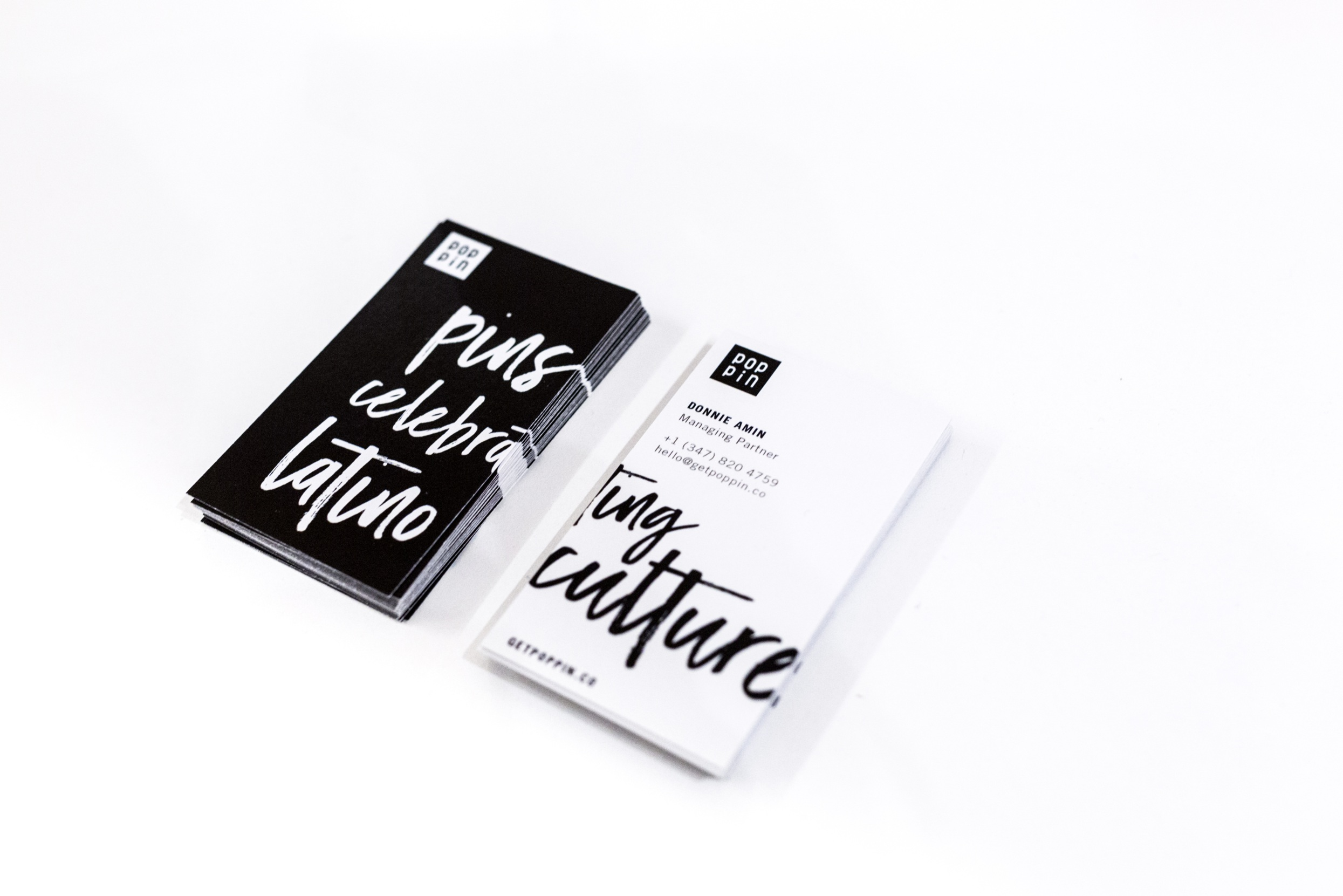 MARKETING COLLATERAL FOR EVENTS — BUSINESS CARDS