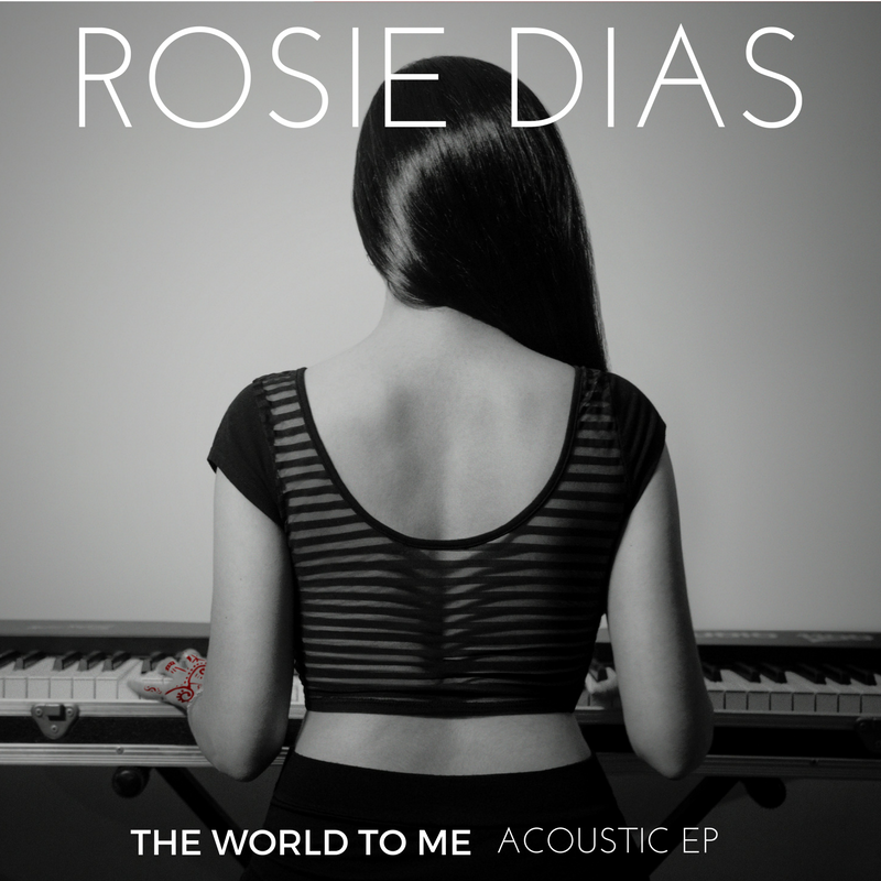 THE WORLD TO ME - Acoustic EP - 2016 Digital 6 song EP1.