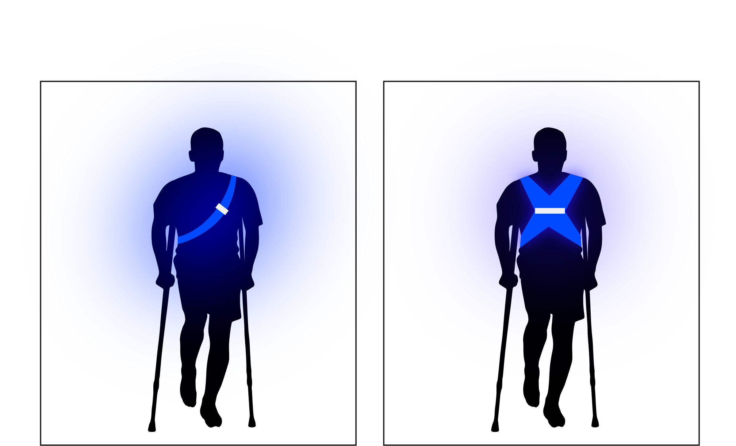 Idea 2 - Wearable light for people who need extra help so it is easier for firemen and fire wardens to locate them.