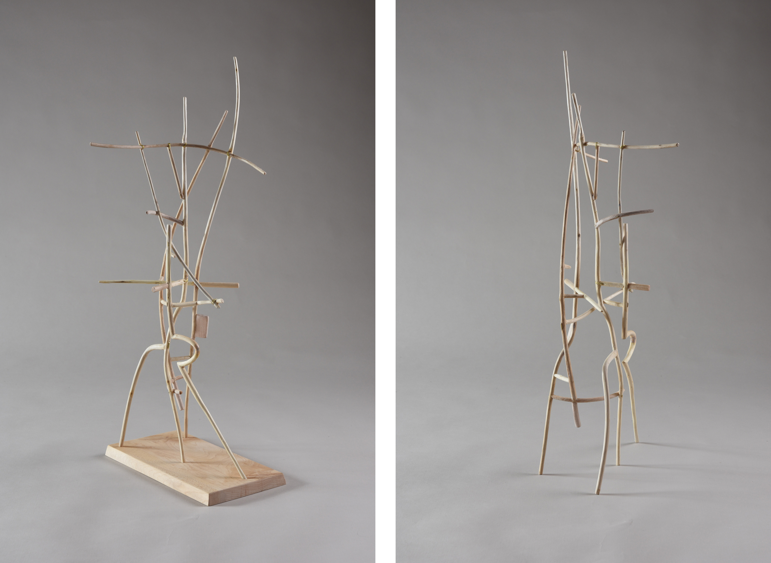 The Tall Chair,  22 3/4 inches, maple, 2015