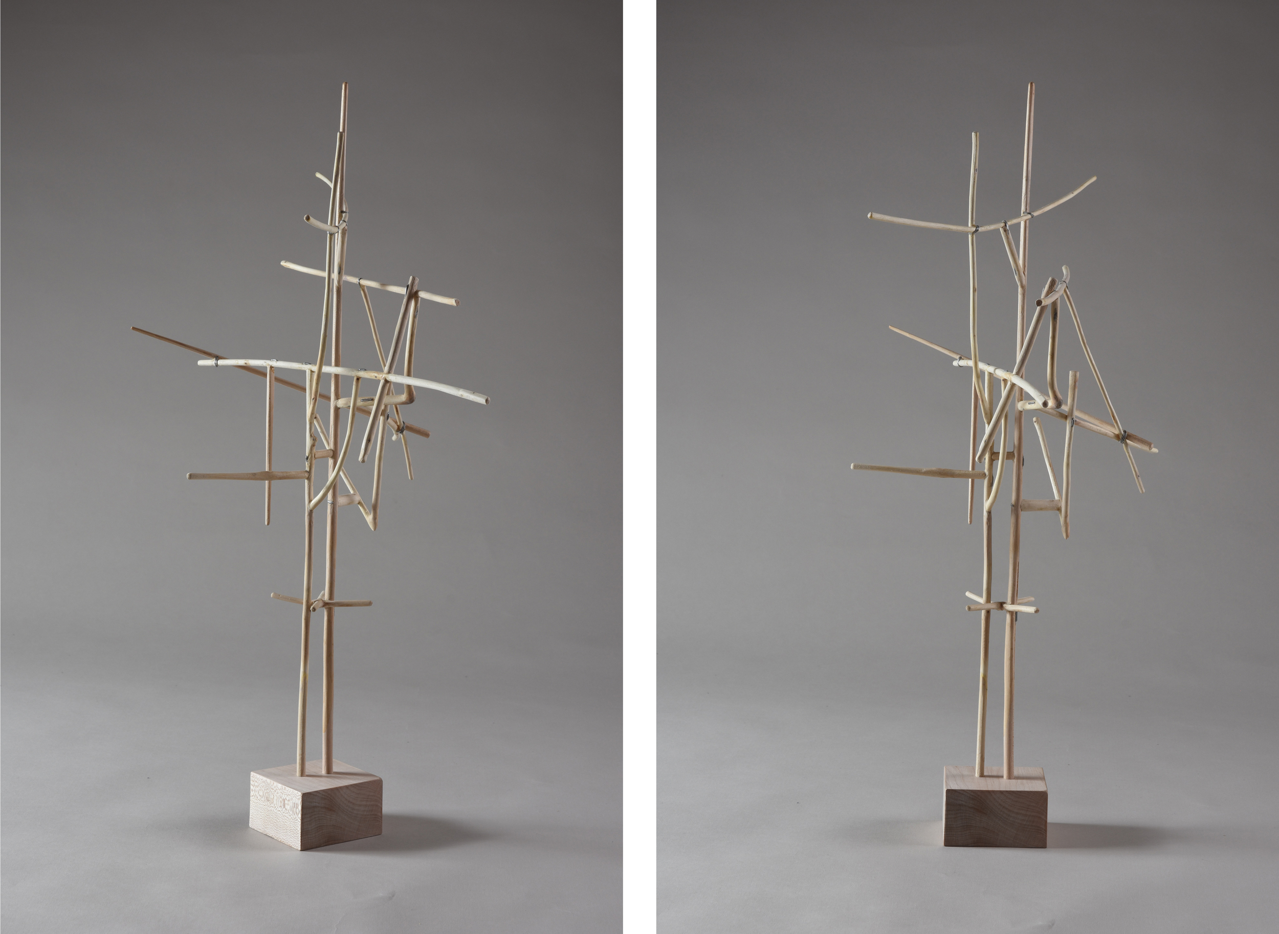 Antenna,  22 1/4 inches, maple, 2015