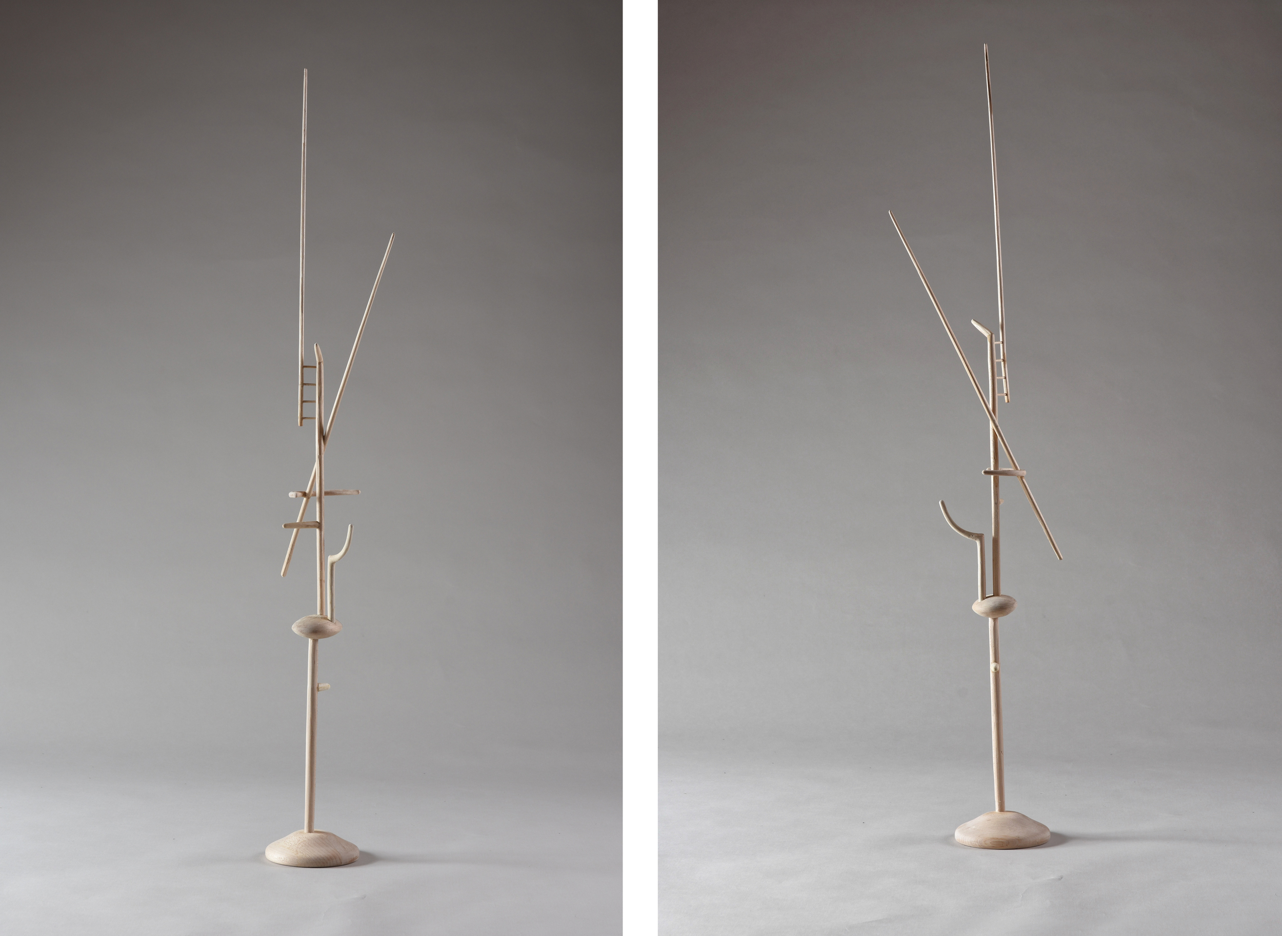 Spire,  31 1/2 inches, maple, 2015