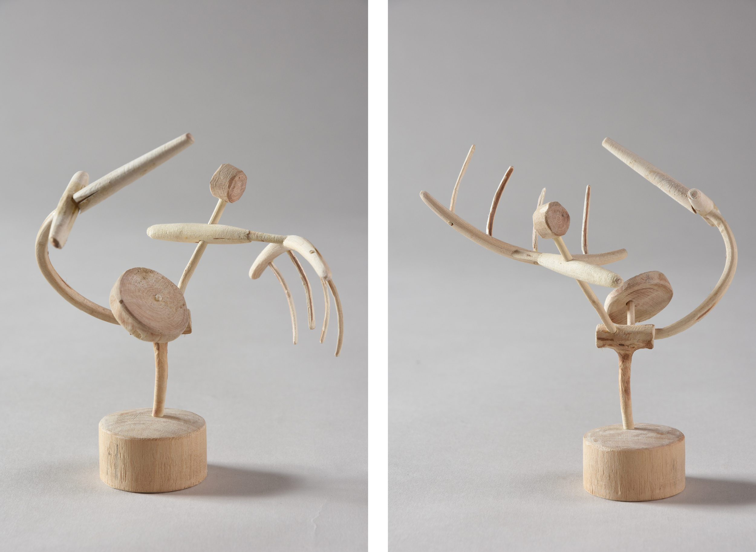 Posable Piece, 5 1/4 inches, maple, 2015