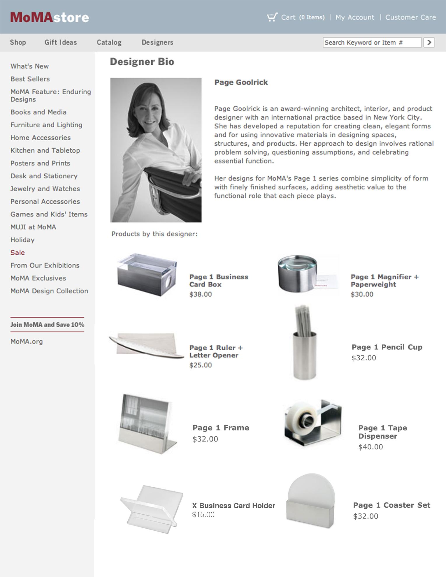 MoMA Profile