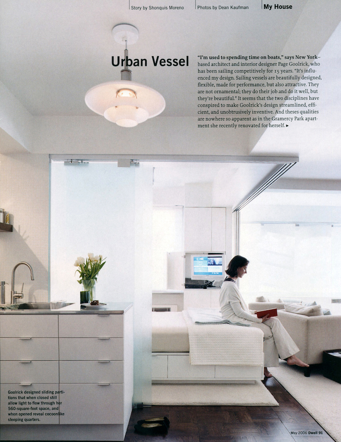 <html>Dwell<p>Urban Vessel</html>