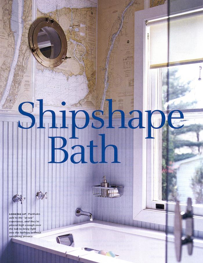<html>Inspired House<p>Shipshape Bath</html>