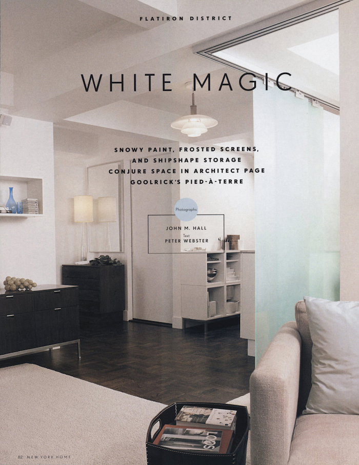 <html>New York Home<p>White Magic</html>