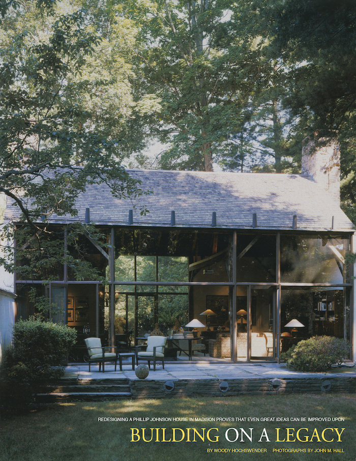 <html>Connecticut Cottages & Gardens<p>Building on a Legacy</html>