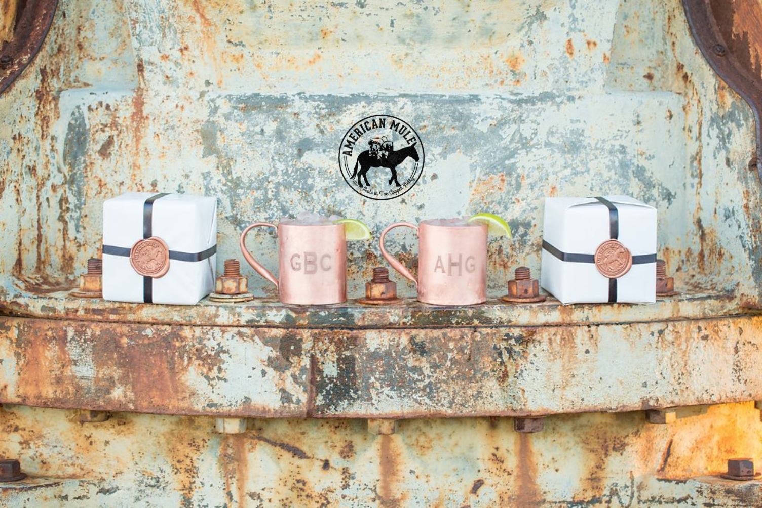 American Mule Custom-Monogram is a quality gift for corporate events and many special occasions. Photo by Danielle Apple Photgraphy