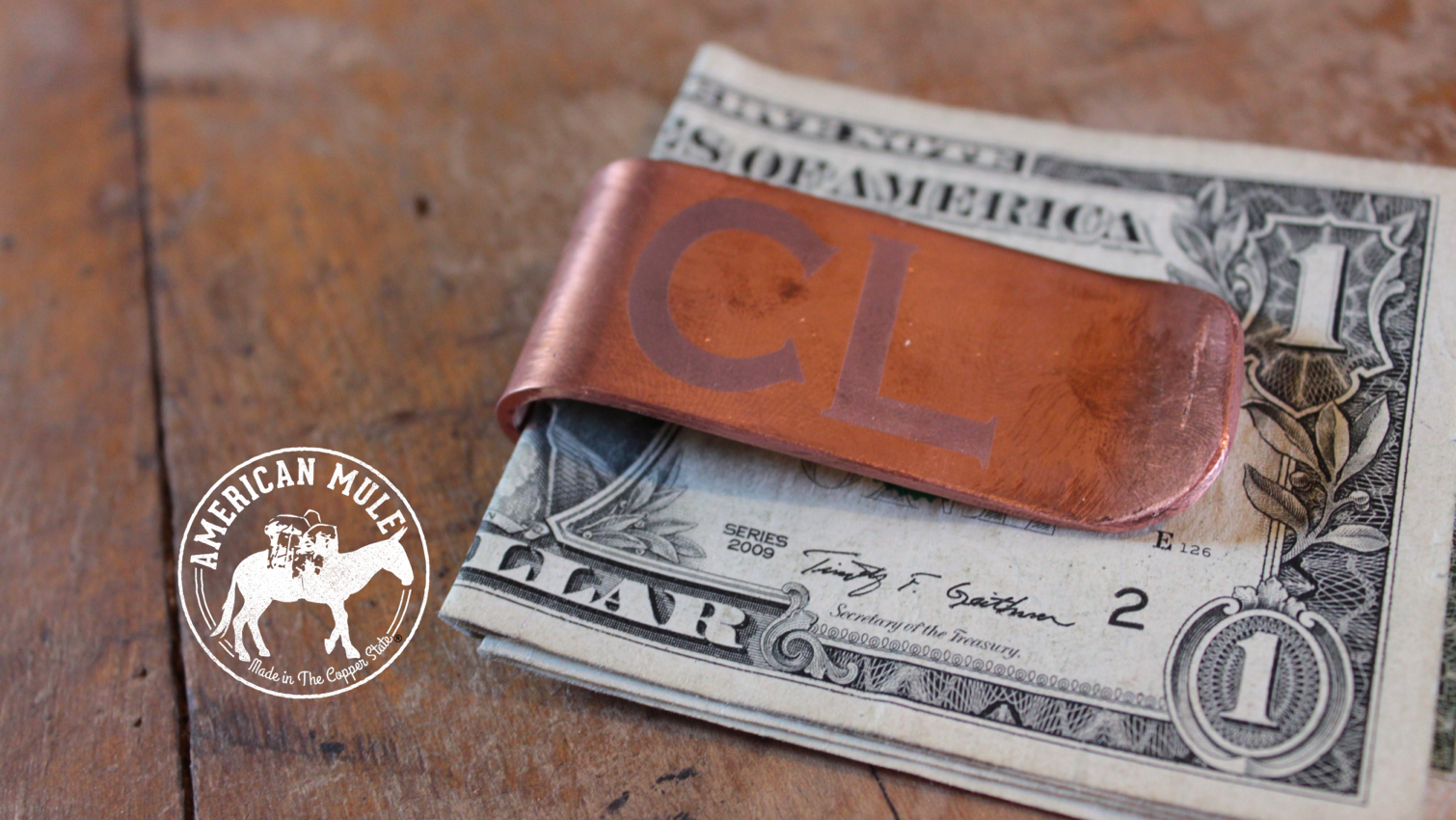American Mule Money Clip
