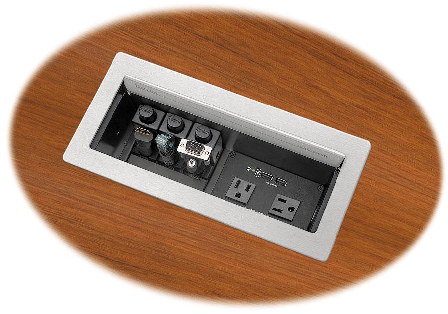 Extron Cable Cubby 1200 In Table AV Box - Customisable