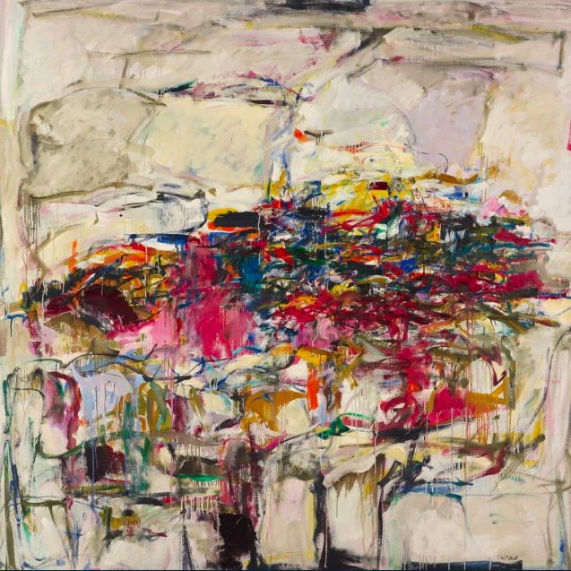 Joan Mitchell,  City Landscape, 1955.