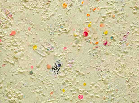 Howardena Pindell,  Untitled #18  (detail), 1977.