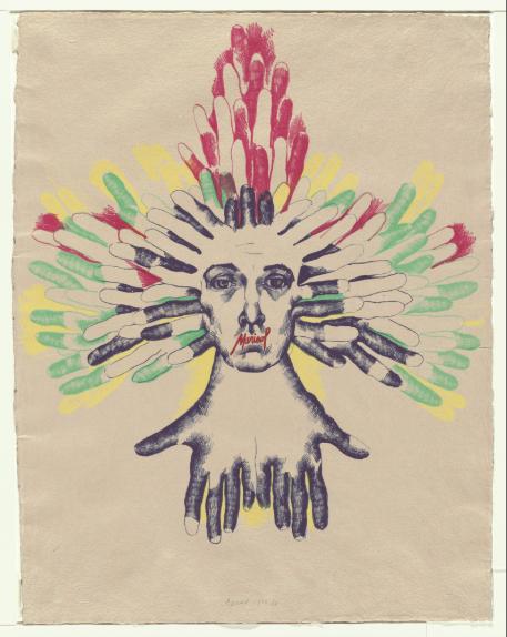 Marisol Escobar,  Cultural Head,  1973.