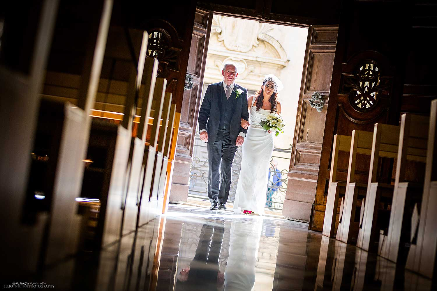 bride-father-walking-church-northumberland-northeast-ceremony-photography