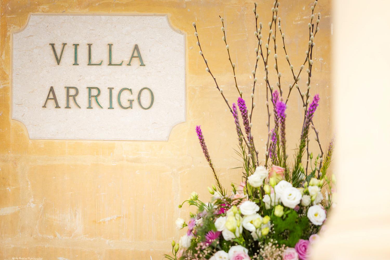 sign of Villa Arrigo, Naxxar