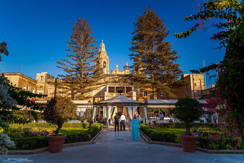 Maltese wedding venue the Palazzo Parisio in Naxxxar, Malta.