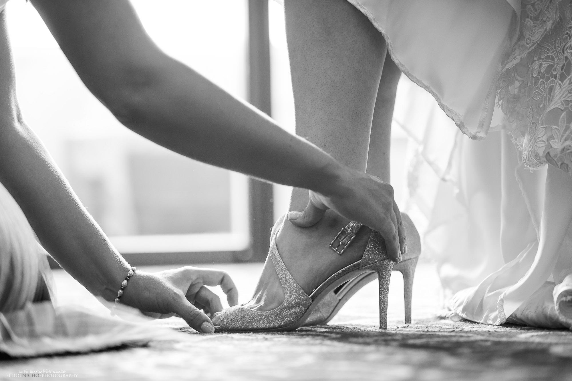 brides-wedding-bride-shoes-bridesmaid-wedding-day-photography-Northeast-Photographer