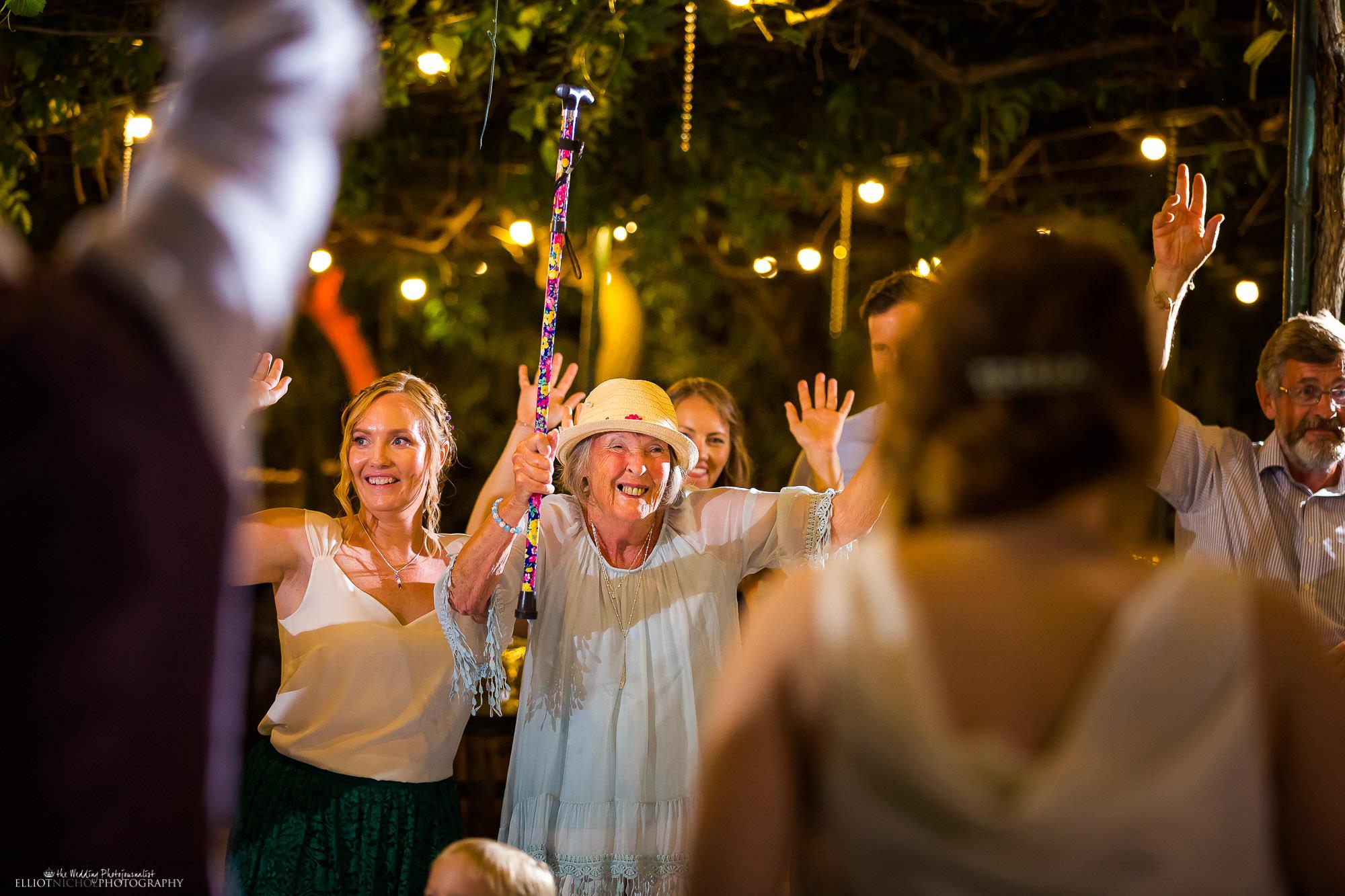 wedding-grandma-dancing-walking-stick-party-fun-wedding-photographer