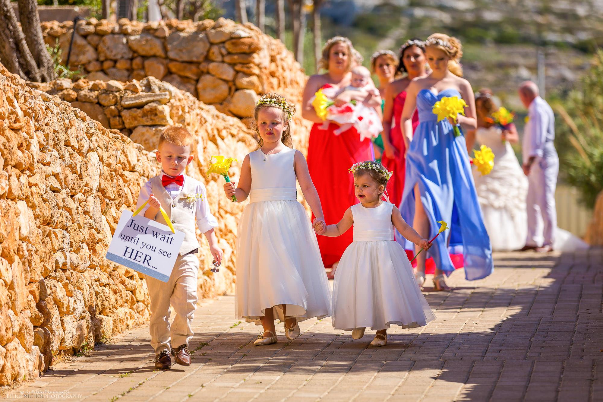 wedding-procession-destination-Seabank-Malta