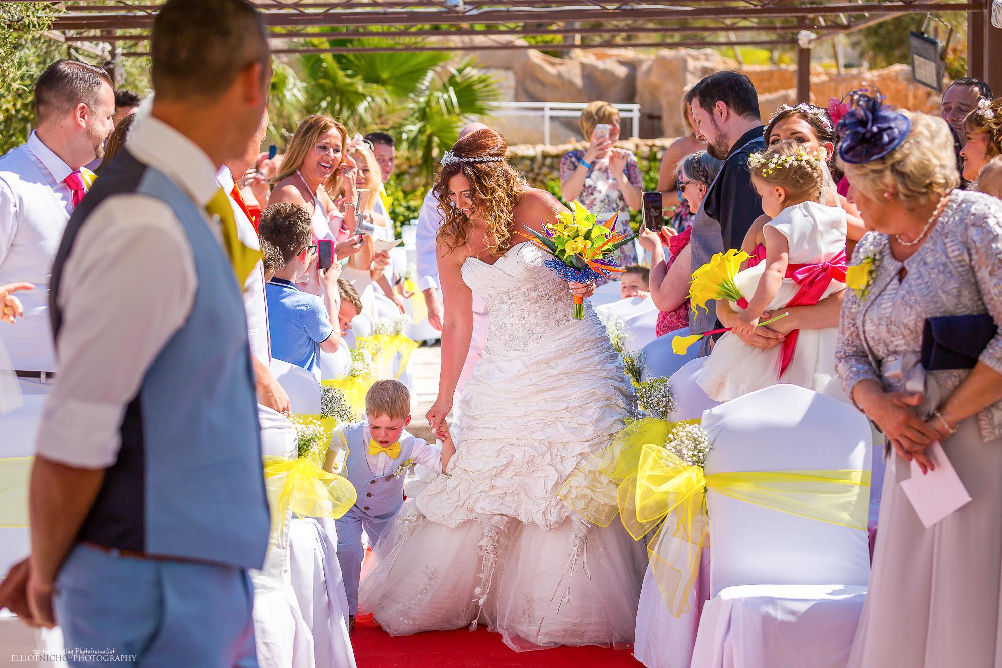 bride-wedding-ceremony-Seabank-Malta-photography