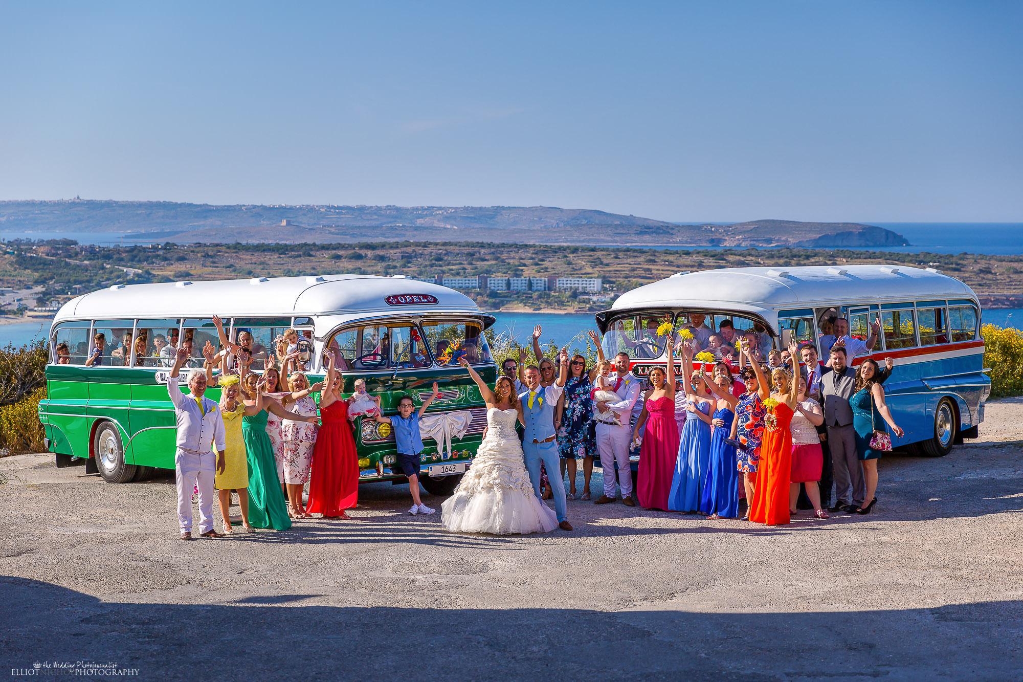 vintage-Maltese-Malta-wedding-coaches-buses-bus-photography