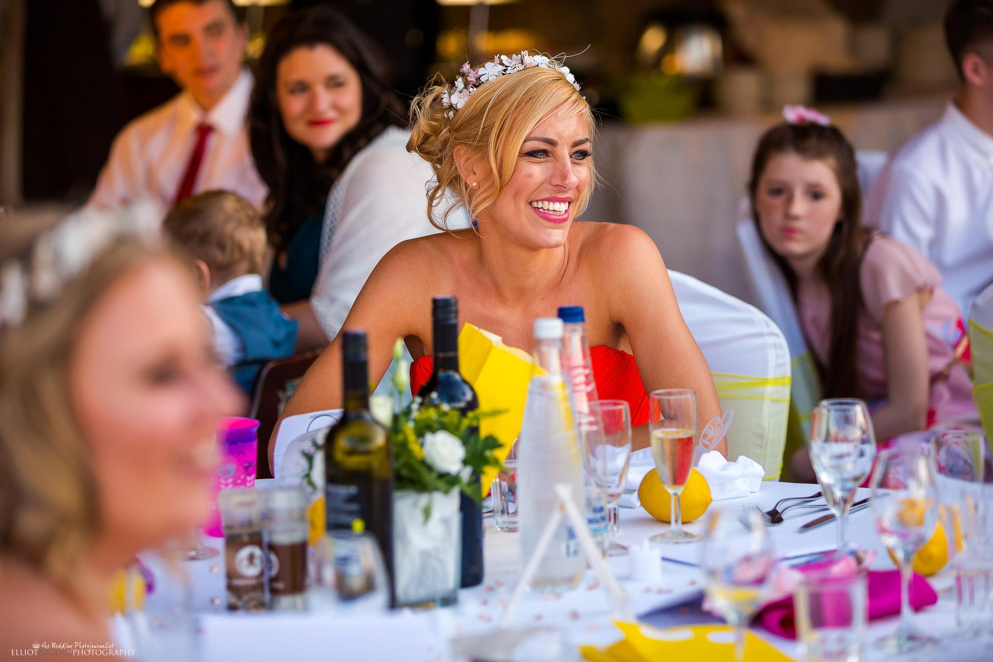 bridesmaid-laughing-wedding-speech-groom
