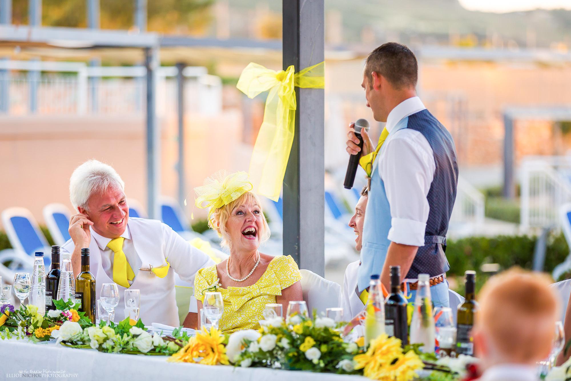 mother-groom-fun-laugh-wedding-speech-destination-wedding