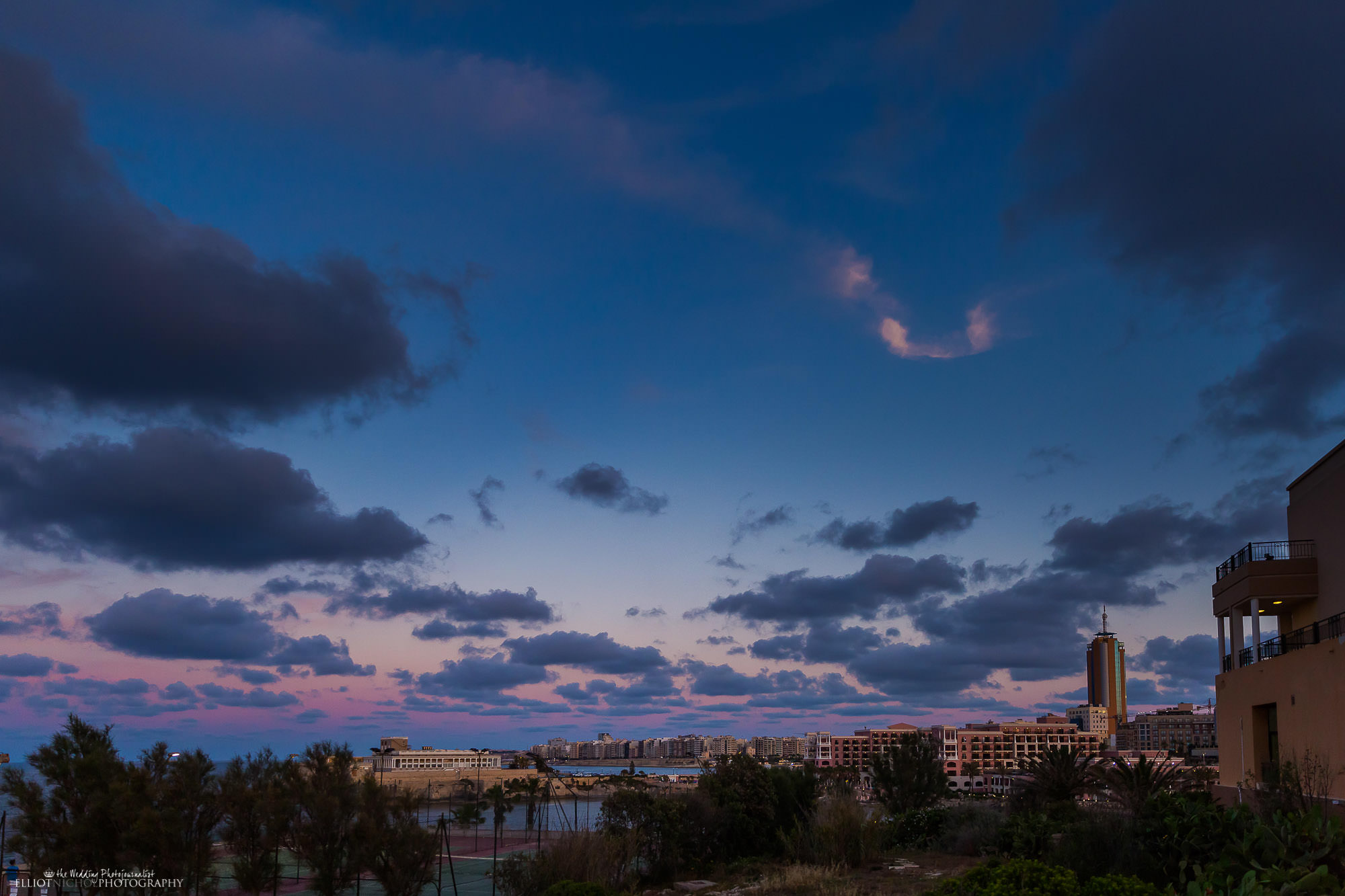 wedding-destination-Malta-dusk-twilight-St Julians