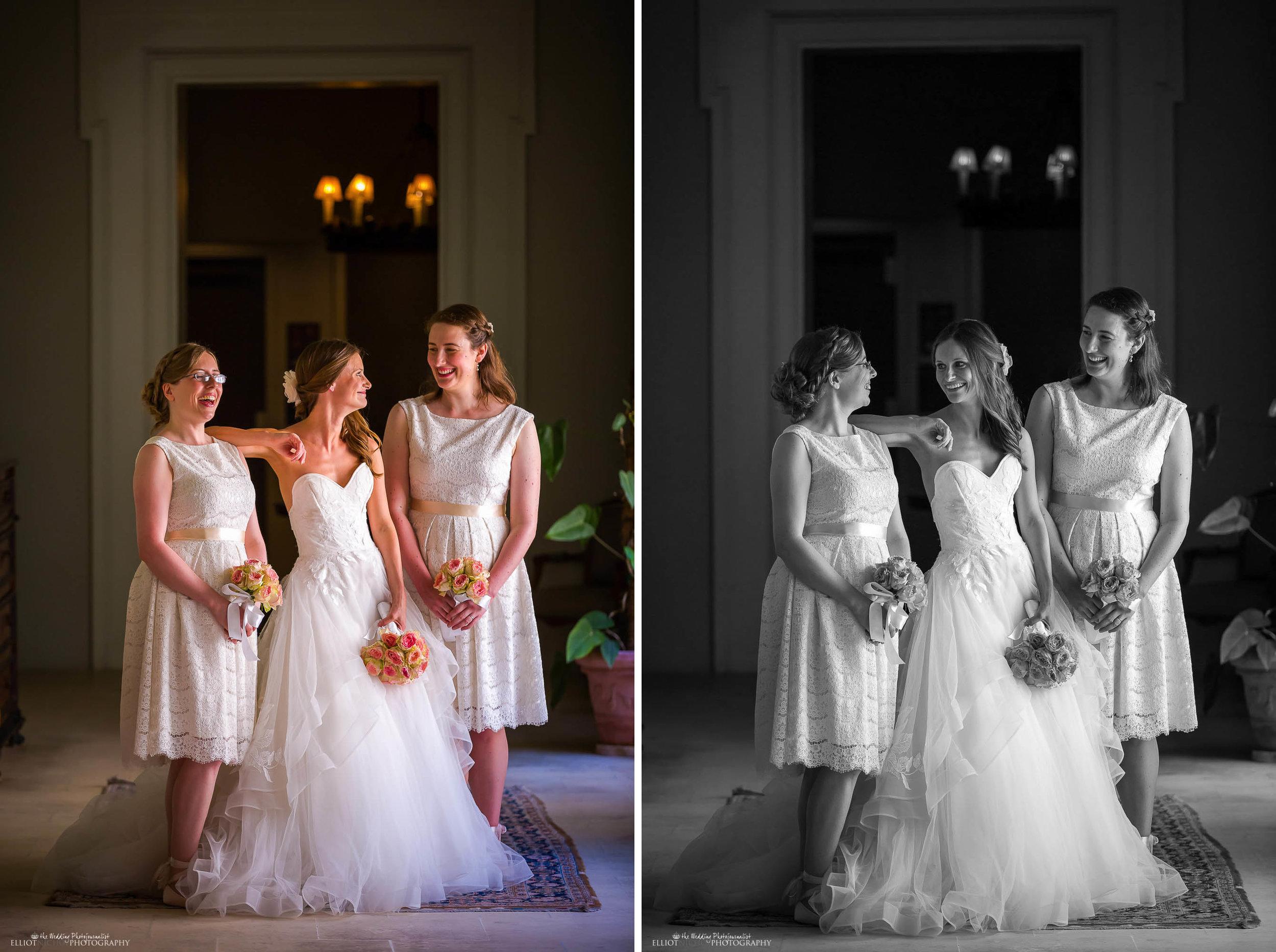 bride-bridesmaid-portrait-natural-wedding-photography