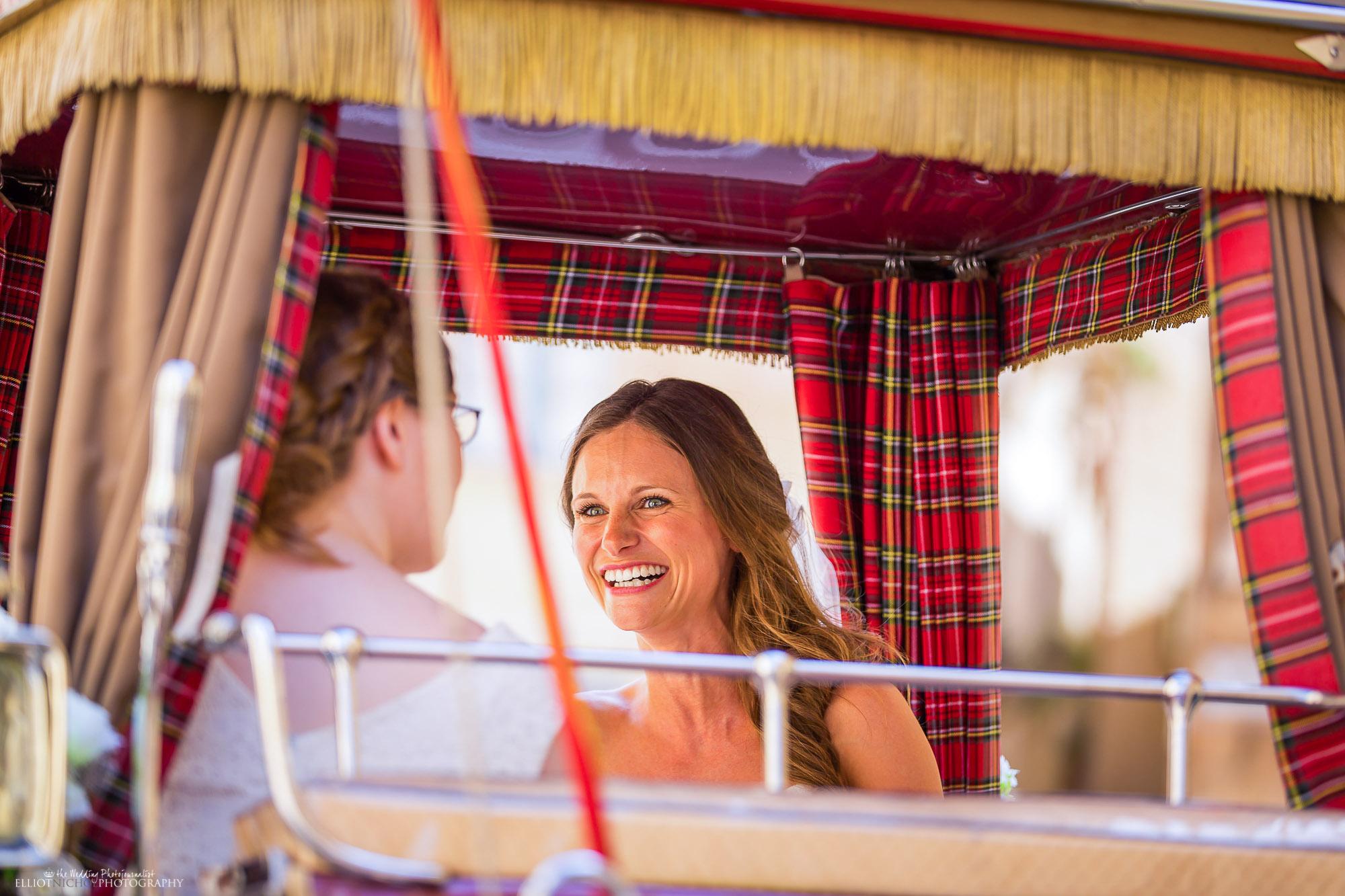 happy-bride-horse-carriage-wedding-destination