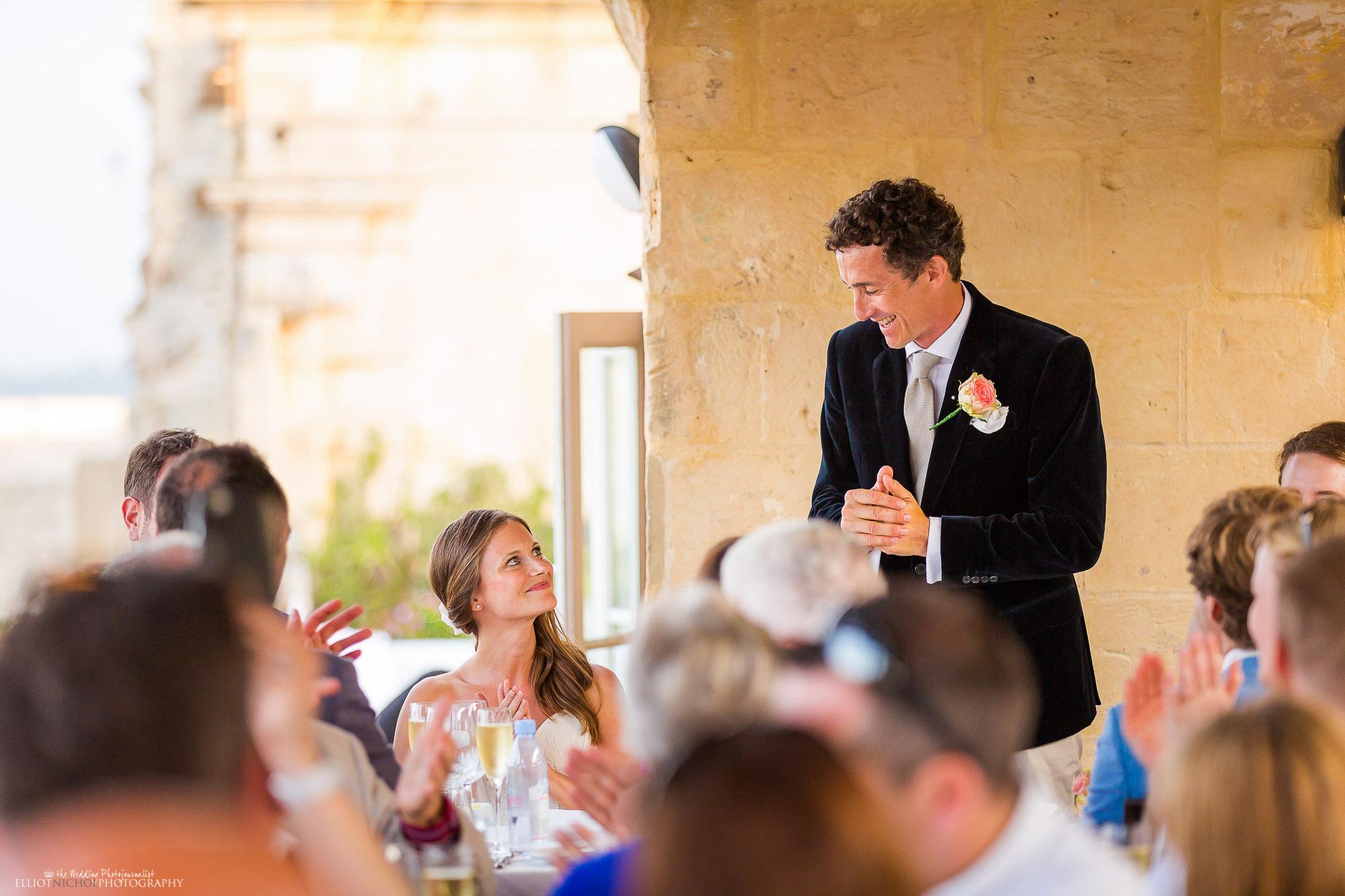 bride-groom-wedding-reception-speech-photography-Newcastle-Photographer
