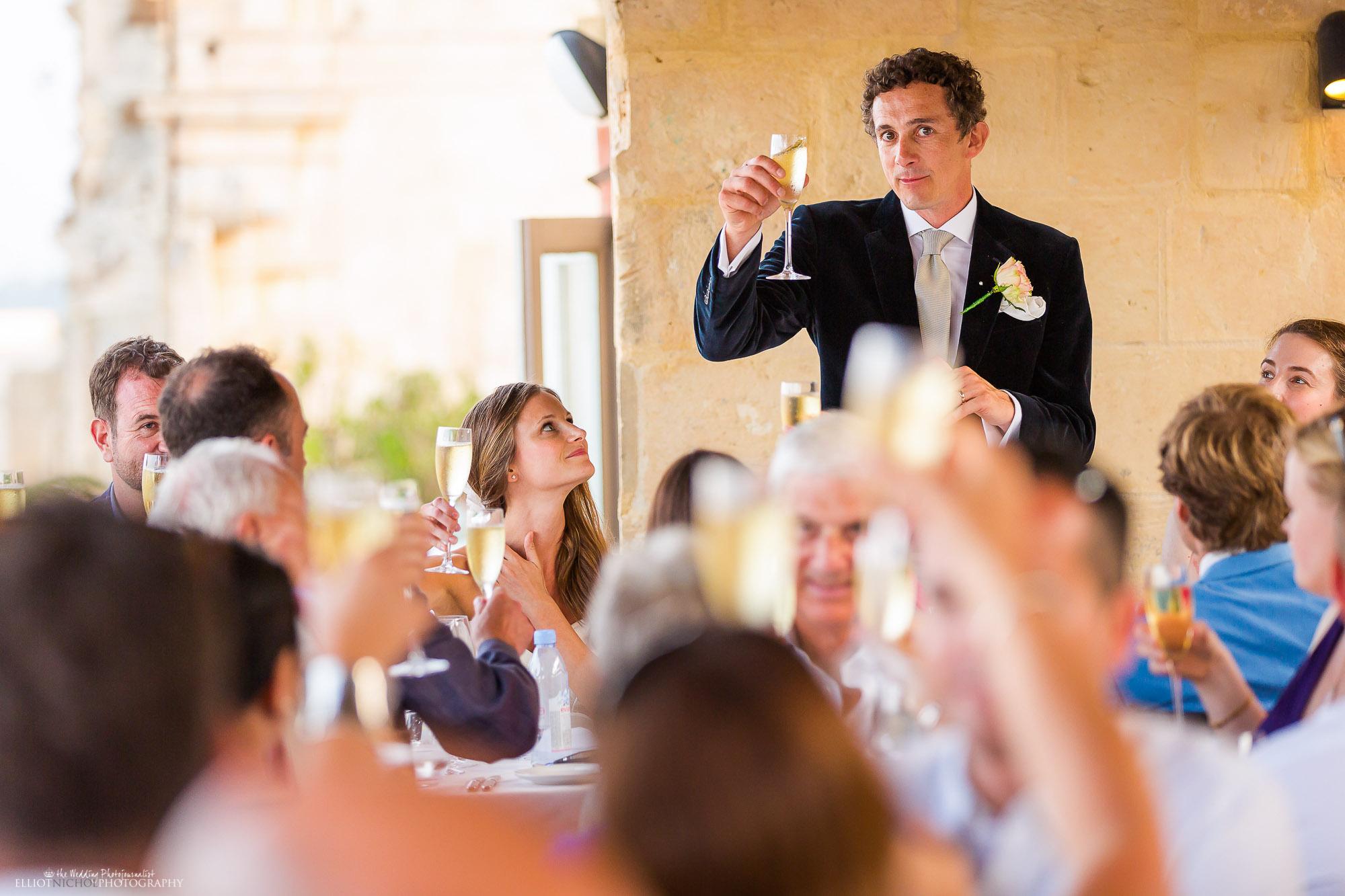 groom-toast-wedding-dinner-speech-reception-photography