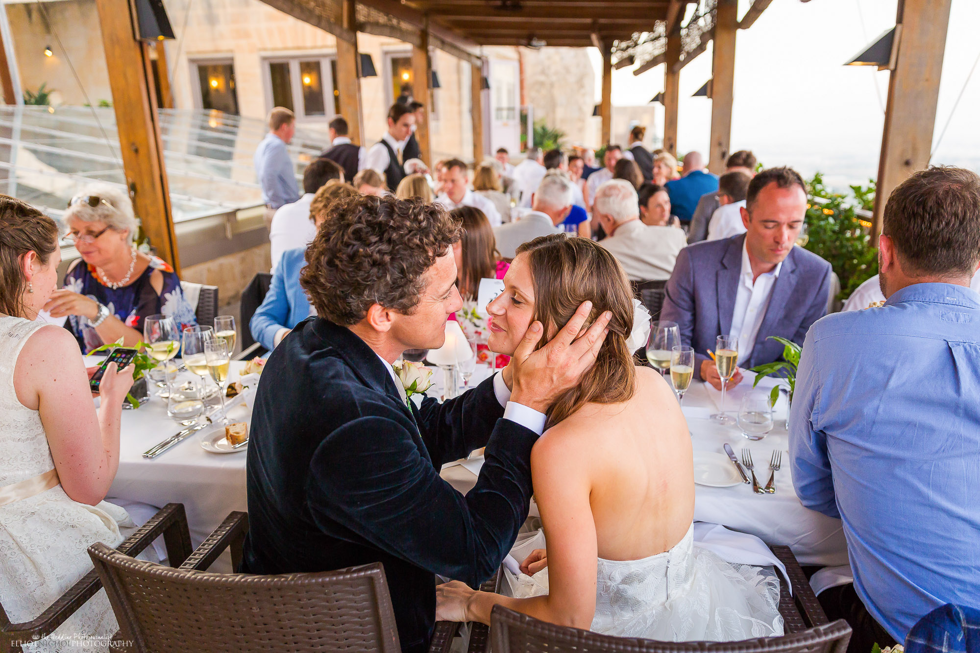 bride-groom-dinner-reception-photography-Northeast