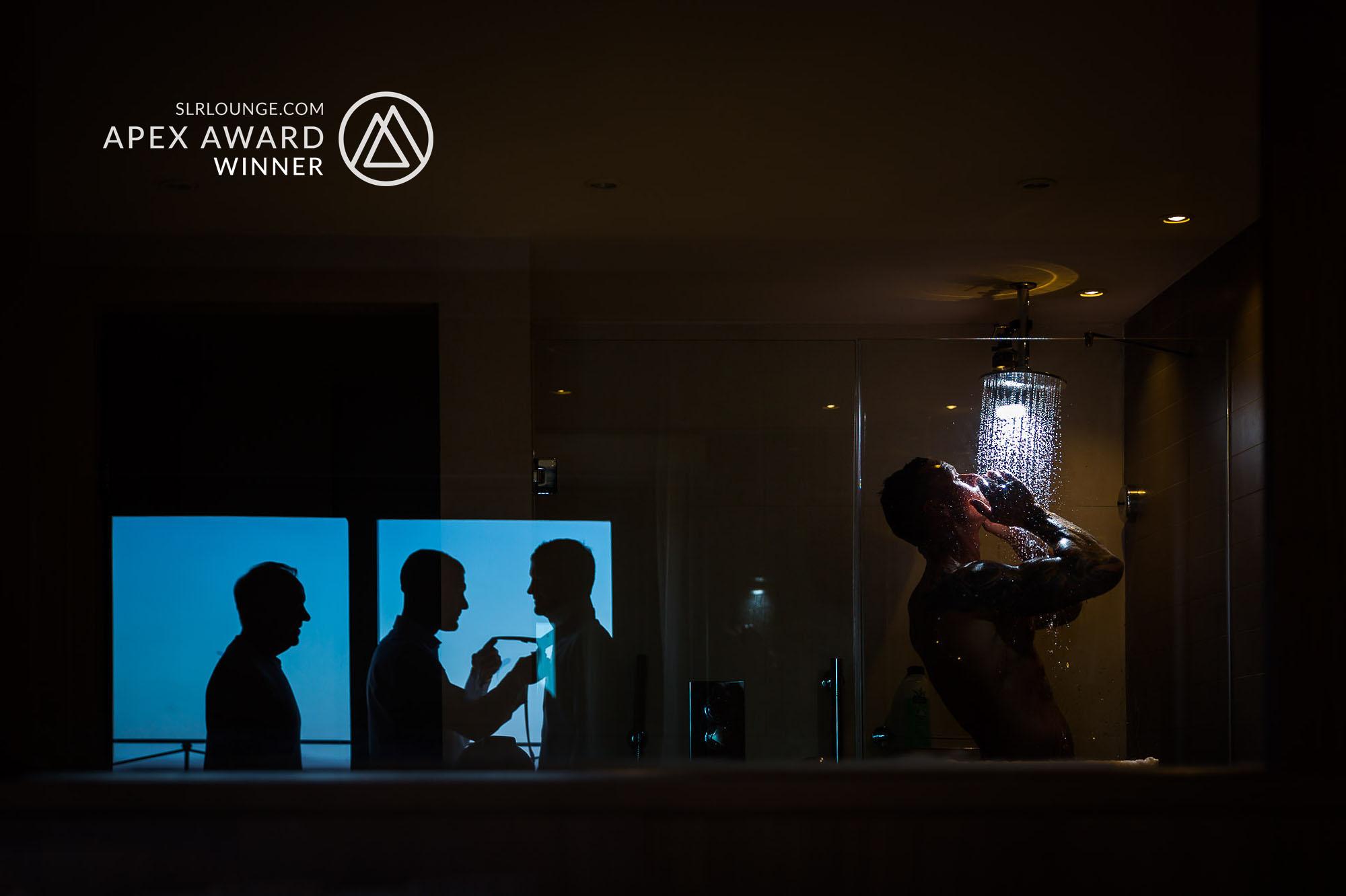 UK wedding photographer award winning SLR Lighting Technique