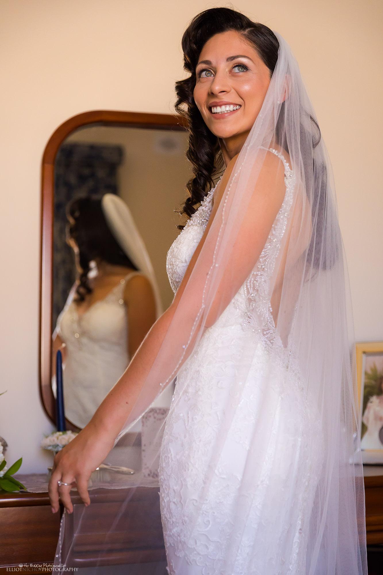 happy-bride-wedding-dress-veil-photography-Newcastle-Upon-Tyne