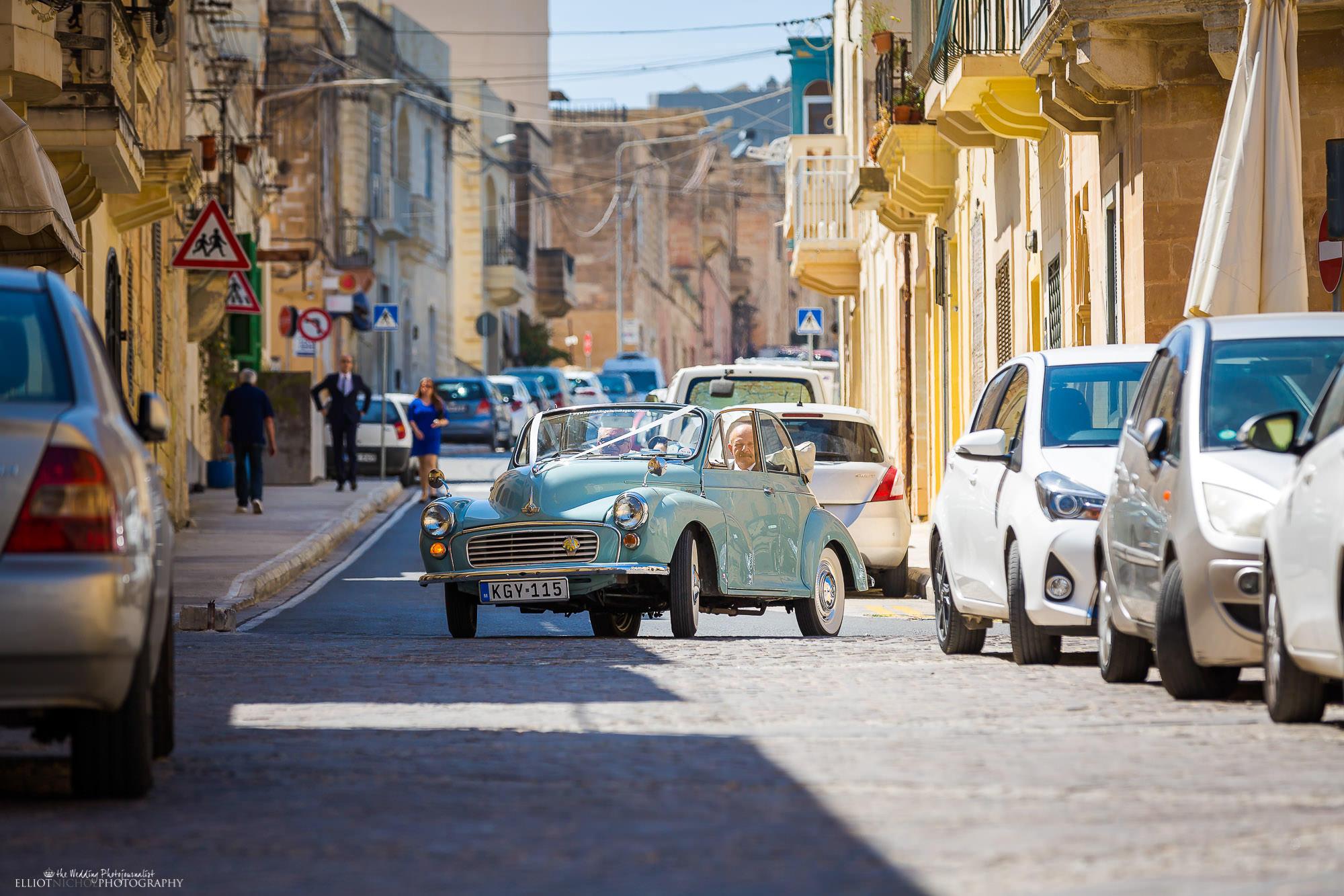 Morris-Minor-wedding-car-destination-weddings-Malta