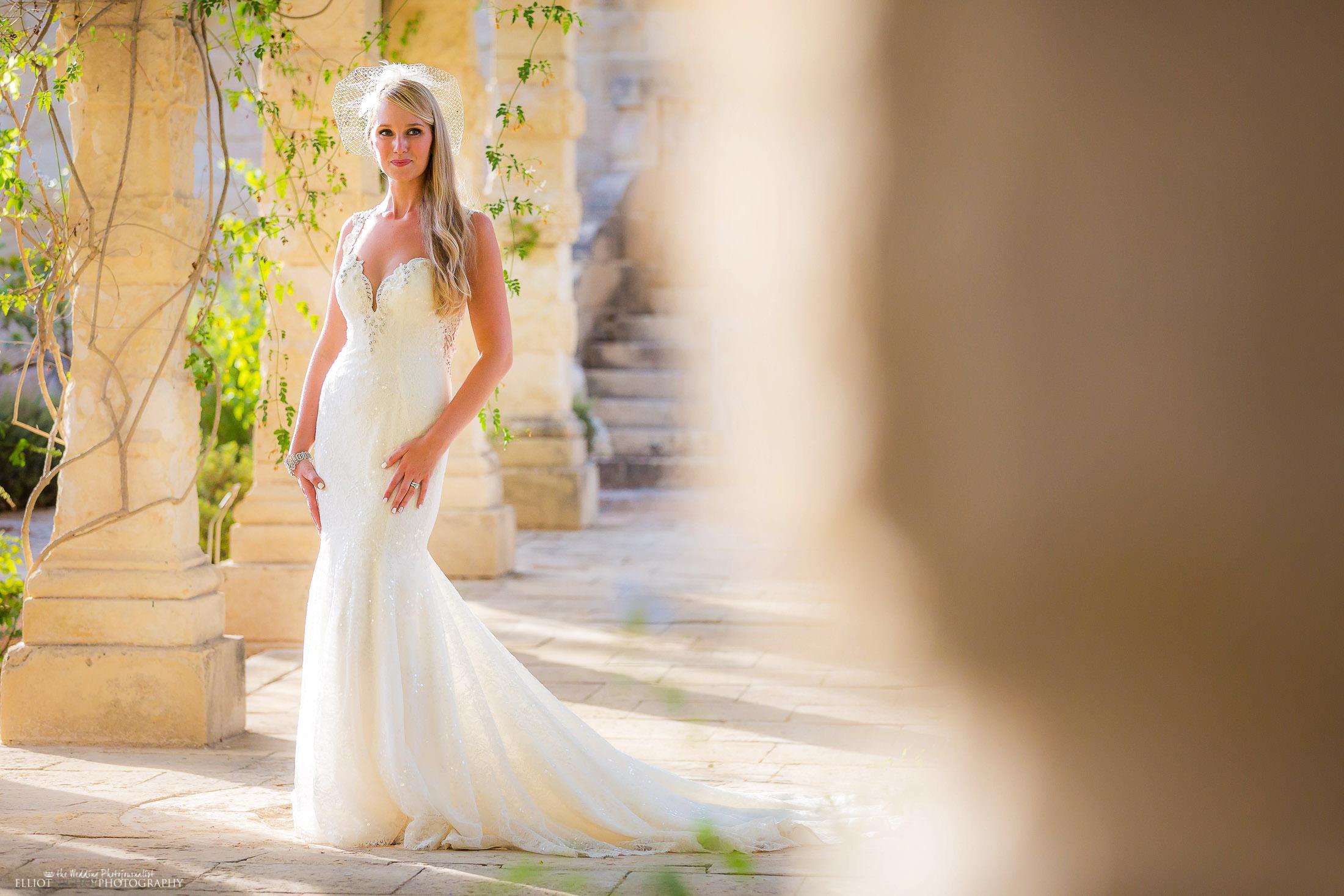 Portrait of the bride. Photo by Elliot Nichol Photography.