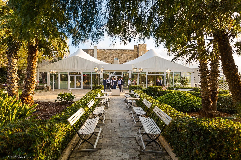 Destination wedding venue in Malta - Villa Arrigo in Naxxar. Photo by Elliot Nichol Photography.